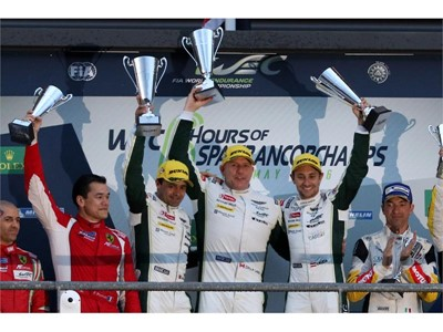 First Win for Dunlop - Aston Martin Partnership