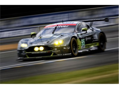 Dunlop and Aston Martin at Le Mans 24h