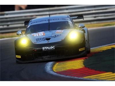 Porsche on the Podium