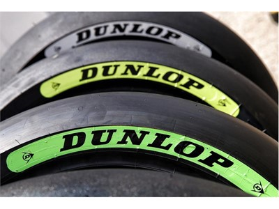 New Dunlop tyre colours to help Moto2 and Moto3 fans