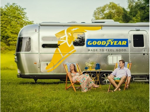 "Goodyear's ""Feel Good Caravan"""
