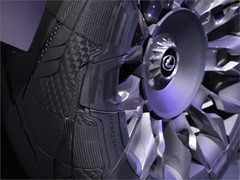Goodyear proudly presents the 'Goodyear Urban CrossOver' –  a customized concept tire for the new Lexus UX concept car.