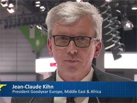 Goodyear Press conference Geneva - Eagle 360 Concept tire - Part 1: Jean-Claude Kihn, President Goodyear EMEA
