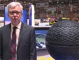 Soundbite Goodyear Eagle 360 concept for autonomous vehicles/driverless cars: Jean-Claude Kihn, President Goodyear EMEA