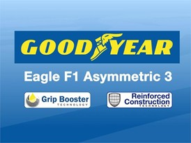 Eagle F1 Asymmetric 3 - Step Down Animation