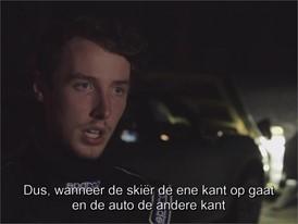 Dunlop Ski Jump - Interview with Driver (NL)