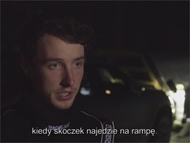 Dunlop Ski Jump - Interview with Driver (PO)