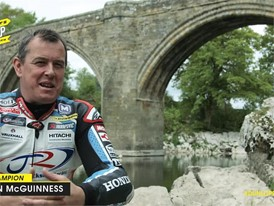 John McGuinness reveals Ultimate Road Trip montage video