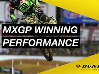 Dunlop - Official Tyre Partner to MXGP