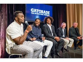 Gatorade Evolution of Football Panel at NFL Draft