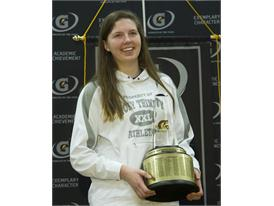 Gatorade National Volleyball Player of the Year award presentation