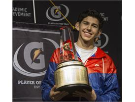 Gatorade National Boys Cross Country Runner of the Year award presentation