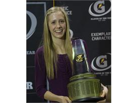 Gatorade National Girls Cross Country Runner of the Year award presentation
