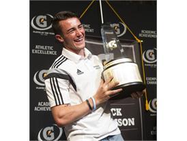 Gatorade National Boys Soccer Player of the Year award presentation