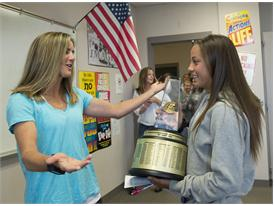 Gatorade National Girls Soccer Player of the Year award surprise