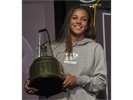 Gatorade National Girls Soccer Player of the Year award presentation
