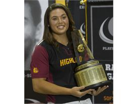 Gatorade National Softball Player of the Year award presentation