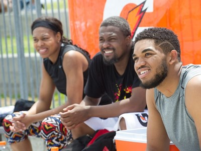 Karl-Anthony Towns: Beat the Heat in Venice Beach