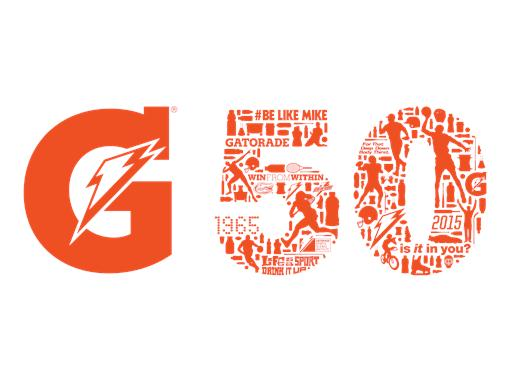 Gatorade 50th Logo