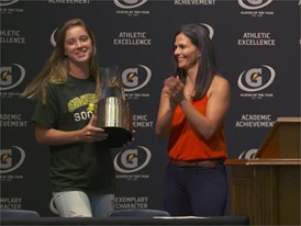 Ella Stevens 2015-2016 Gatorade National Girls Soccer Player of the Year