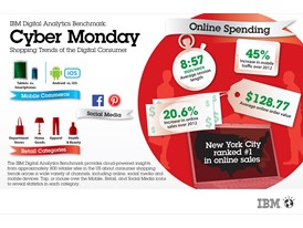 IBM Digital Analytics Benchmark: Cyber Monday Shopping Trends of the Digital Consumer
