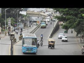 India traffic b-roll