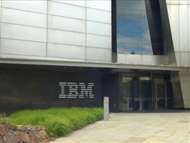 IBM headquarters b-roll