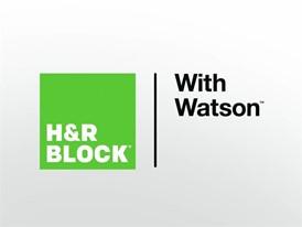 H&R Block with IBM Watson Reinventing Tax Preparation