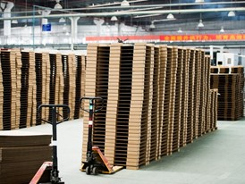Dongguan MYS currently produce around 1.3 million paper pallets for IKEA on a yearly basis