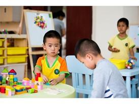 Zhou Zixiang, Yang Han and Huang Haoran, children of migrant workers in Dongguan MYS