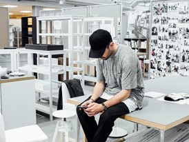 Chris Stamp at IKEA design center in Älmhult