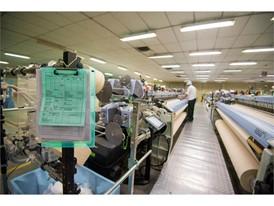 Weaving of LENDA at Asian Fabricx.