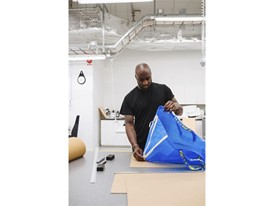Virgil Abloh at the prototype shop in IKEA of Sweden