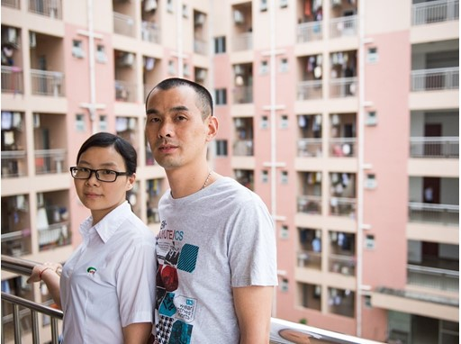 Qin Liao and Shunbo Liu works in MYS Dongguan and live in the dormitories that the management has on their premises