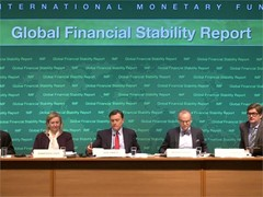 IMF Warns of Threats to Financial Stability