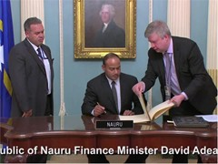 IMF Welcomes Nauru as the 189th Member