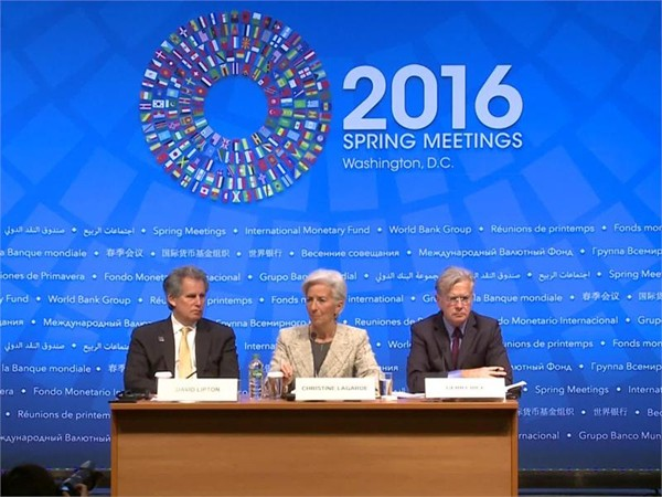 IMF Managing Director Christine Lagarde Briefing