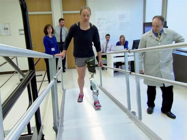Slated Version: Powering the Next Generation of Prosthetic Legs with a New Control System