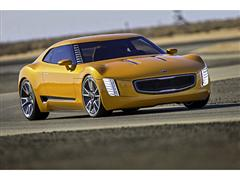 Kia Shocks the Motor City with Rear-Drive GT4 Stinger Concept