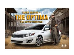 NBA All - Star Blake Griffin Stars as a Wild-West Lawman, a Gladiator and a Fighter Pilot in New Ad Campaign for Kia's Best-Selling Optima Sedan