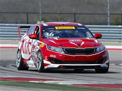 Kia Racing Charges Into the Streets of St. Petersburg for Rounds Three and Four of Pirelli World Challenge