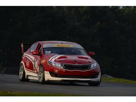 Kia Racing scores podium performances at Mid-Ohio Sports Car Course doubleheader