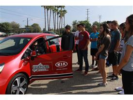 Kia Motors America and B.R.A.K.E.S. Teen Pro Active Driving School