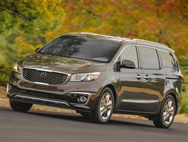 2017 Kia Sedona Earns 2016 Top Safety Pick+