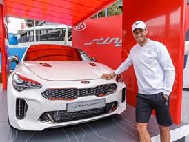 Kia Motors and Rafael Nadal at Australian Open 2017 (2)