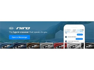 Kia Motors America Launches Bot for Messenger to Introduce Consumers to the All-new Niro Hybrid Utility Vehicle