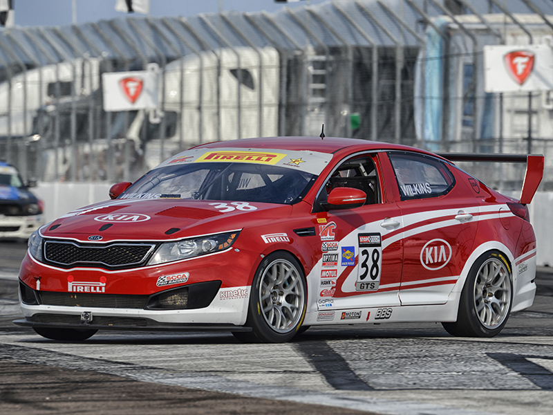 Kia Racing ready to kick off 2014 Pirelli World Challenge season on Streets of St. Petersburg