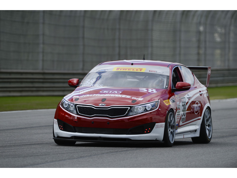 Kia Racing makes competition debut in turbocharged Optimas at Road America.