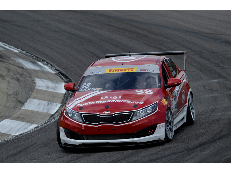 Kia Racing carries championship lead to Mid-Ohio for rounds 11 and 12 of Pirelli World Challenge.