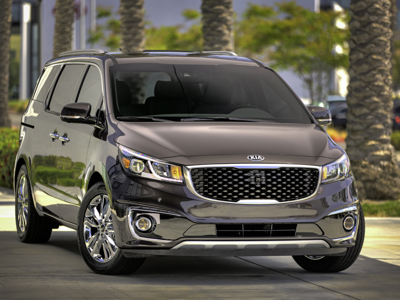 2015 Kia Sedona Receives J.D. Power APEAL Award